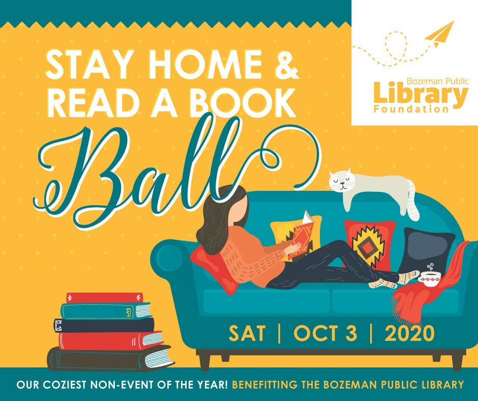 Stay Home and Read a Book Ball will support west side satellite location