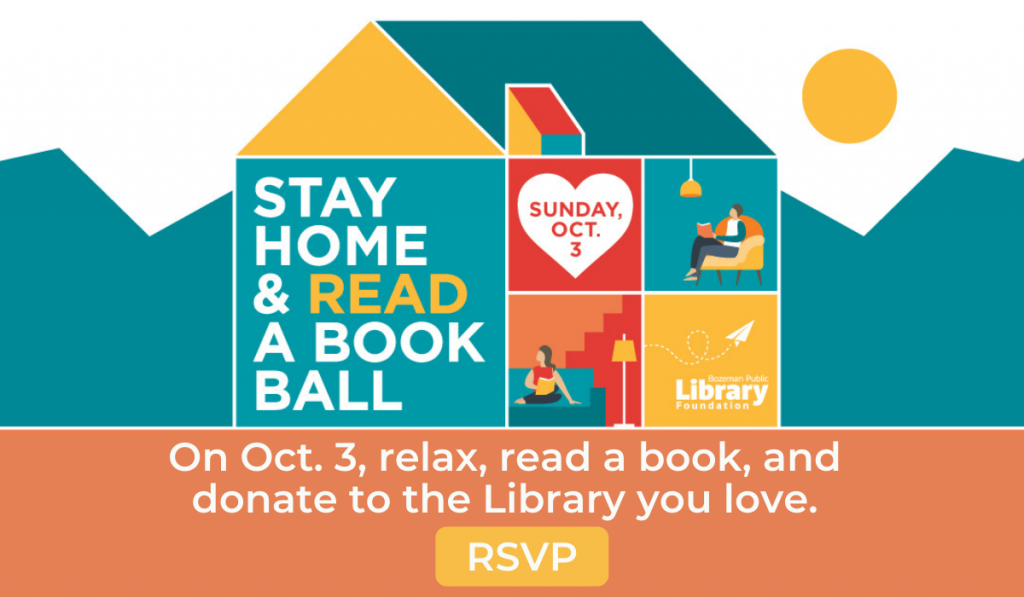 RSVP to the Stay Home and Read a Book Ball